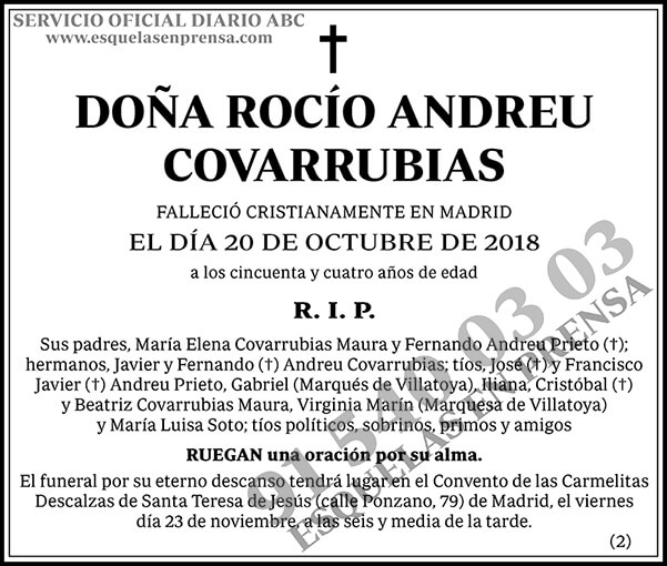 Rocío Andreu Covarrubias